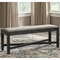 Signature Design by Ashley Tyler Creek Upholstered Dining Room Bench - Image 2 of 3