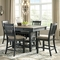 Signature Design by Ashley Tyler Creek Rectangular Dining Room Counter Height Table - Image 2 of 3