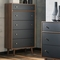 Signature Design by Ashley Daneston 5 pc. Bedroom Set with 5 Drawer Chest - Image 4 of 4