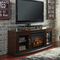 Ashley Chanceen TV Stand with Fireplace Insert - Image 2 of 2