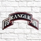 Chrome Domz Army Rangers 75th Embossed Wall Art Scroll - Image 2 of 3