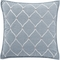 Waterford Florence Chambray Blue 18 x 18 in. Square Decorative Pillow - Image 1 of 2