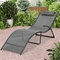 CorLiving Riverside Folding Reclined Patio Lounger - Image 4 of 5