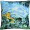 Trademark Paul Cezanne Mont Saintevictoire And Chateau Noir Decorative Throw Pillow - Image 1 of 3