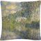Trademark Fine Art Claude Monet Poplars On The Epte Decorative Throw Pillow - Image 1 of 3
