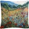 Trademark Fine Art Masters Fine Art Field Of Wild Flowers Decorative Throw Pillow - Image 1 of 3