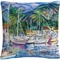 Trademark Fine Art Manor Shadian Lahaina Marina Decorative Throw Pillow - Image 1 of 3