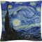 Trademark Fine Art Vincent van Gogh Starry Night Decorative Throw Pillow - Image 1 of 3