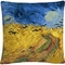 Trademark Fine Art Vincent van Gogh Wheatfield With Crows Decorative Throw Pillow - Image 1 of 3