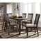 Signature Design by Ashley Dresbar Table with 6 Side Chairs - Image 1 of 4