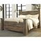 Signature Design by Ashley Trinell Poster Bed - Image 4 of 4