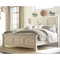 Ashley Bolanburg Queen Louvered Bed 5 pc. Set - Image 2 of 4
