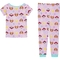 Nickelodeon Toddler Girls PAW Patrol Cotton Pajamas 4 pc. Set - Image 4 of 4