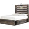 Signature Design by Ashley Drystan Panel Bed with 1 Side Storage - Image 2 of 6