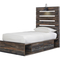 Signature Design by Ashley Drystan Panel Bed with 1 Side Storage - Image 3 of 6