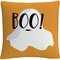 Trademark Fine Art White Ghost Boo Halloween Decorative Throw Pillow - Image 1 of 3