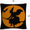 Trademark Fine Art The Witches Broom Halloween Decorative Throw Pillow - Image 2 of 3