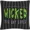 Trademark Fine Art Something Wicked This Way Comes Halloween Decorative Pillow - Image 1 of 3