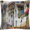 Trademark Fine Art Cuzco I Tuscan Architectural Village Decorative Throw Pillow - Image 1 of 2
