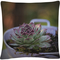 'Antisocial' by Christine Sainte-Laudy 16 x 16 Decorative Throw Pillow - Image 1 of 2