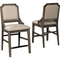Signature Design by Ashley Wyndahl Upholstered Barstool 2 pk. - Image 1 of 5
