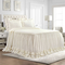 Lush Decor Ella Shabby Chic Ruffle Lace 3 Pc. Bedspread Set - Image 1 of 5