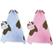 Trend Lab Character Hooded Puppy Bath Towel - Image 2 of 2
