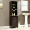 Sauder Peppercorn Linen Tower, Cinnamon Cherry with Cascade Granite Finish Accent - Image 1 of 3