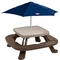 Little Tikes Fold 'N Store Picnic Table With Market Umbrella - Image 1 of 3