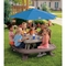 Little Tikes Fold 'N Store Picnic Table With Market Umbrella - Image 2 of 3