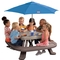 Little Tikes Fold 'N Store Picnic Table With Market Umbrella - Image 3 of 3