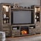 Ashley Trinell Entertainment Wall with Fireplace Insert - Image 1 of 2