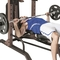 Steel Body Power Tower Plus Fold Up Bench - Image 2 of 4
