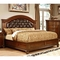 Furniture of America Grandom Queen Bed - Image 1 of 2