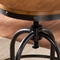 Southern Enterprises Adjustable Industrial Stool - Image 3 of 3