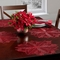 Benson Mills Holiday Poinsettia Pressed Vinyl Placemat - Image 2 of 2
