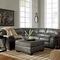Signature Design by Ashley Bladen 2 Pc. Sectional RAF Loveseat/LAF Sofa - Image 3 of 3