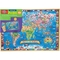 T.S. Shure Map of the World 500 Pc. Wooden Puzzle - Image 1 of 2