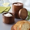 Rachael Ray Wooden 3 Tier Stacking Salt Box - Image 2 of 2