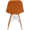 Zuo Modern Probability Dining Chair Orange - Image 2 of 4
