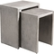 Zuo Modern Mom Nesting Cement Side Table - Image 1 of 4