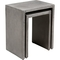 Zuo Modern Mom Nesting Cement Side Table - Image 2 of 4